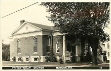 1940s RPPC Postcard; Presbyterian Church, Horicon WI 12. Dodge County, Posted