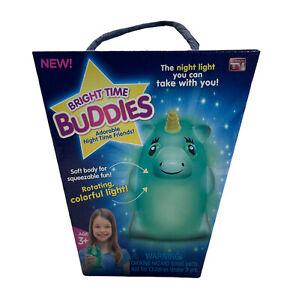 Bright Time Buddies Night Light - Unicorn Adorable Night Time Friends! New