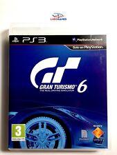Gran Turismo 6 EUR PS3 Promo Retro Playstation Videojuego Mint State Como Nuevo