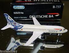Schabak 1:600 Scale Diecast 925-214e Deutsche Airlines Boeing 737-300 Edelweiss