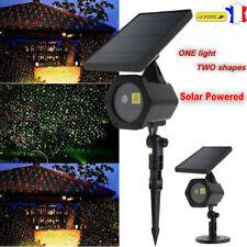 Solaire LED lumière Laser Dynamique Projecteur Rouge & Vert Éclairage Noël Fête