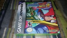 Mega Man Zero 4 (Nintendo Game Boy Advance, 2005) New Factory Sealed