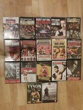 17 X Boxing DVDs Bundle (Ali, Calzaghe, Hatton, Tyson, Knockouts)