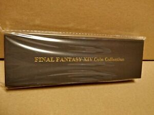 OFFICIAL SQUARE ENIX FINAL FANTASY XIV (14) GIL COIN COLLECTION SET - NEW SEALED