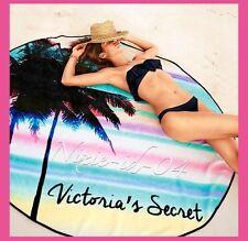 Victorias Secret Roundie Blanket 2016 Limited Edition Round Beach Towel NEW