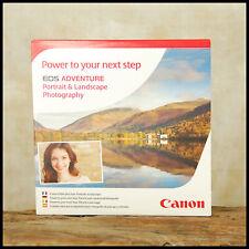 CD DVD Canon EOS Digital SLR Guide Portrait & Landscape Photography