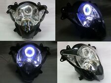 Angel Eye HID Blue Demon Eye Headlight Assembly 2006-2007 Suzuki GSXR 600 750