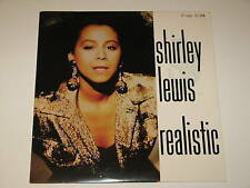 "SHIRLEY LEWIS realistic 12"" RECORD PROMO SYNTH POP 1989"