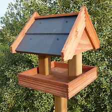 Slate roof bird table Ideal for Summer! Great quality item