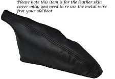 BLACK STITCHING FITS TOYOTA CELICA TA22 TA23 RA28 LEATHER HANDBRAKE GAITER BOOT