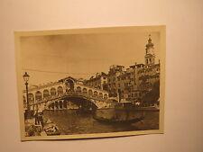 Venezia / Venedig - Ponto Rialto / Rialtobrücke - mit Gondel / Foto