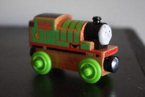 Thomas the Train Percy Tank Engine Truck Friends Wooden Railway FHM17 Rare FM3