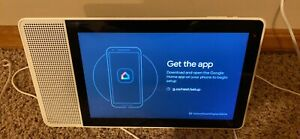 Lenovo ZA3N0003US 10in Smart Display 10 with Google Assistant - Bamboo/White