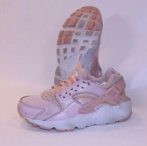 Nike Air Huarache Run SE 3.5Y Shoe Sneaker Basketball GS Pink Youth Girls Joggin