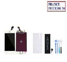 VITRE TACTILE + ECRAN LCD + BATTERIE + OUTIL + VERRE TREMPE IPHONE 5S NOIR