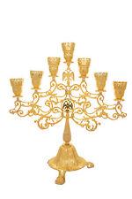 Orthodox Church Byzantine Holy Table altar vigil 7 lamps Candelabra Lampada