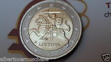 2 euro 2015 LITUANIA cavaliere VYTIS Lituanie Lithuania Litauen Lietuva Литва