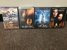 Lost Souls + Sixth Sense + Do Or Die + The Orphanage 4 Dvd Lot Free Shipping