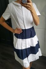 COS stripy skater dress with buttons size S / 36
