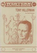 Tony Hillerman (Western Writers Series No. 87) (Western Writers Series No. 37)