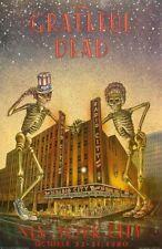 GRATEFUL DEAD REPLICA *RADIO CITY MUSIC HALL* 1980 CONCERT POSTER