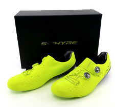 Shimano RC9Y S-Phyre Road Bike Shoes, Yellow, US 11.2 / EU 46