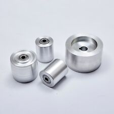 """2x72"""" knife making grinder with wheels 4""""Drive  4 PCS CYLINDER 5/8 (15,90mm)"""