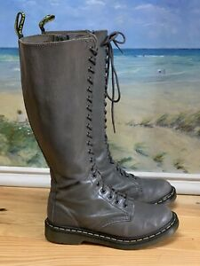 Womens Dr.martens Long 20 Eyes Boots Size 5