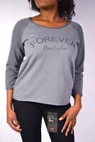 HERRLICHER Sweater BENICE Pullover S9115 ANTRA grau  Größe S / M / L / XL