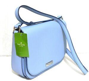 Kate Spade New York, large Carsen cross body bag, blue dawn colour, ***NWT