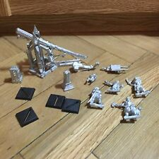 Bretonnia Trebuchet Metal Sixth Edition OOP