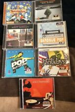 Firstcom OneMusic Production Music Cds (Lot Of 7) Poptopia, Jazz Remixed, More