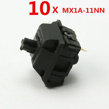 New 10X LOT Genuine Mechanical Keyboard Balck Axis Switch Cherry MX MX1A-11NN