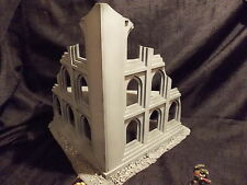 WARGAME SCENERY  EASY BUILD  LARGE RUIN FOR USE WITH 40K,BOLTACTION, OR SIMILAR