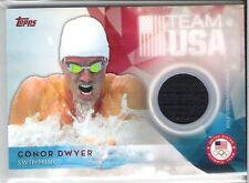 """Topps Olympic Team """" Conor Dwyer """" Swimming / Relic"""