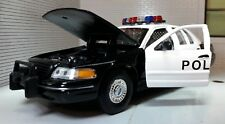 LGB 1:24 Scale Welly Ford Crown Victoria Police Detailed Diecast Model Car 1999