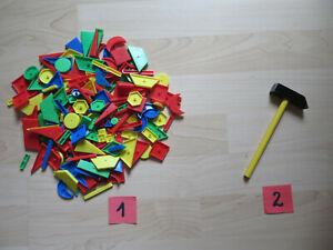 Hammerspiel, zur AUSWAHL aus Sortiment Kunststoffteile ODER Hammer aus Holz