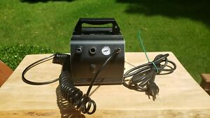 Nice PreOwned Sparmax AC-27 16 LPM Airbrush Compressor W/Auto-Off & Hose