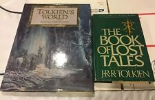 tolkien books lot of 2 very good condition