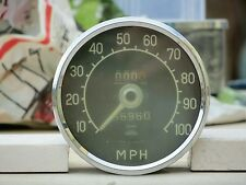 Jaeger Speedometer Gauge MPH Contamiglia Jaguar Triumph Austin Healey MG