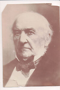 Vintage Press Photo William Ewart Gladstone English Prime Minister