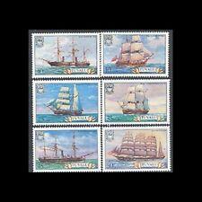 TUVALU, Sc #151-56, MNH, 1981, Ships, CL128F
