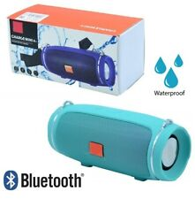 CASSA BLUETOOTH POTENTE SMARTPHONE SPEAKER ALTOPARLANTE WATERPROOF CHARGE MINI4+