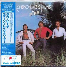 Emerson Lake & Palmer - Love Beach / Japan Mini LP CD / Papersleeve
