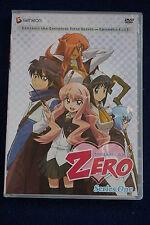 The Familiar of Zero: Series One (DVD, 2010, 4-Disc Set) - RARE