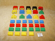 LEGO Parts: 4744,6215,6216 Brick, Modified with Curved Top ASST & DECORATED x37