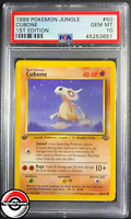 1999 Pokemon Jungle Cubone 1st Edition #50 PSA 10 Gem-Mint