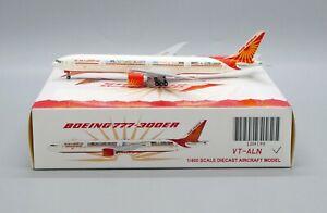 JC Wings 1:400 Air India Boeing B777-300(ER) 'Celebrating India' VT-ALN