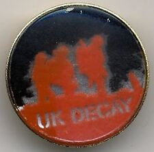 UK Decay metal Brooch Button #2BASEDBASED
