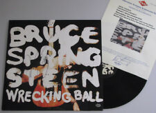 BRUCE SPRINGSTEEN  Hand Signed LP  2013 Aust Tour + PAAS COA *Buy Genuine*